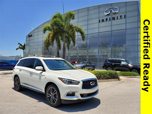 Certified Pre-Owned 2016 INFINITI QX60 DELUXE TECHNOLOGY THEATHER