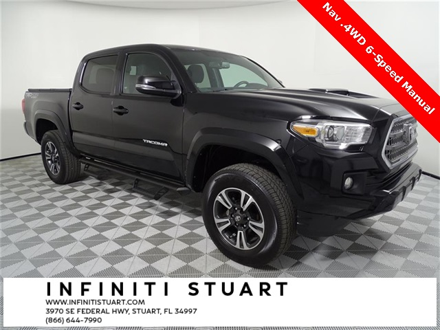 Pre-Owned 2017 Toyota Tacoma TRD Sport 4WD 6-Speed Manual
