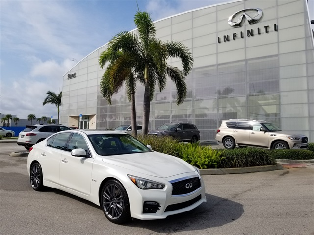 Pre Owned 2016 Infiniti Q50 Red Sport 400