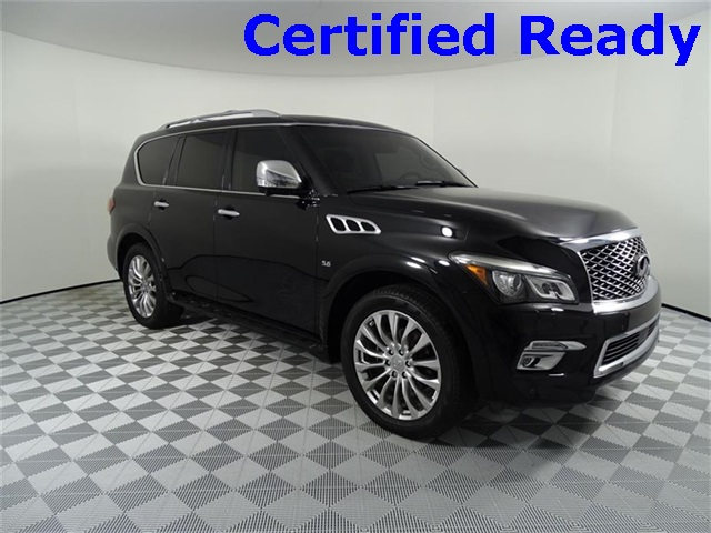 Pre-Owned 2016 INFINITI QX80 Theater + Technology Package