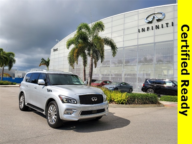 Certified Pre-Owned 2017 INFINITI QX80 Drivers Assist-Theater-22 inch wheels