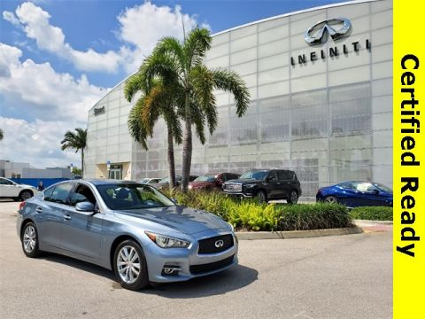 Certified Pre-Owned 2015 INFINITI Q50 Premium w/ Navigation