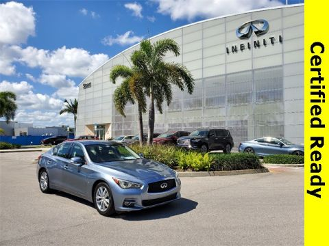 Certified Pre-Owned 2015 INFINITI Q50 Navigation Package