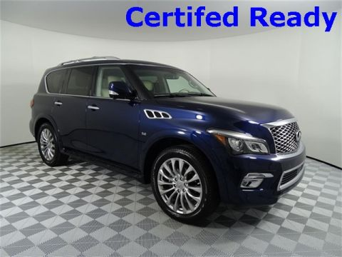 Certified Pre-Owned 2016 INFINITI QX80 Theater + Driver's Assist Package